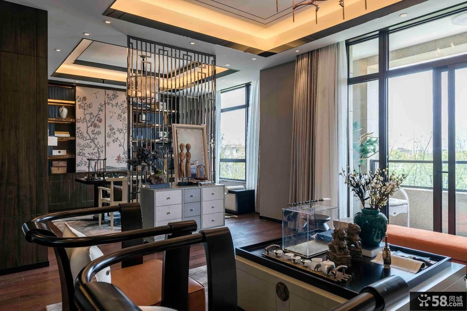 时尚精致新中式家居装修案例