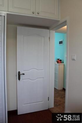 白色卧室门效果图