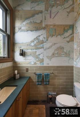 小卫生间瓷砖设计