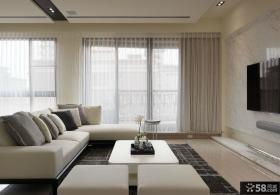 现代风格客厅电视背景墙效果图欣赏大全