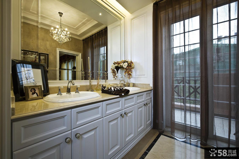 美式家庭设计卫生间图片
