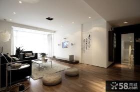 现代客厅玄关效果图欣赏