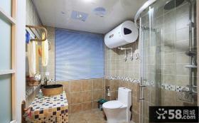 卫生间瓷砖装修效果图大全图片