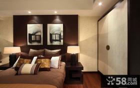 中式卧室房间装修案例