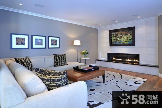 客厅电视背景墙墙砖