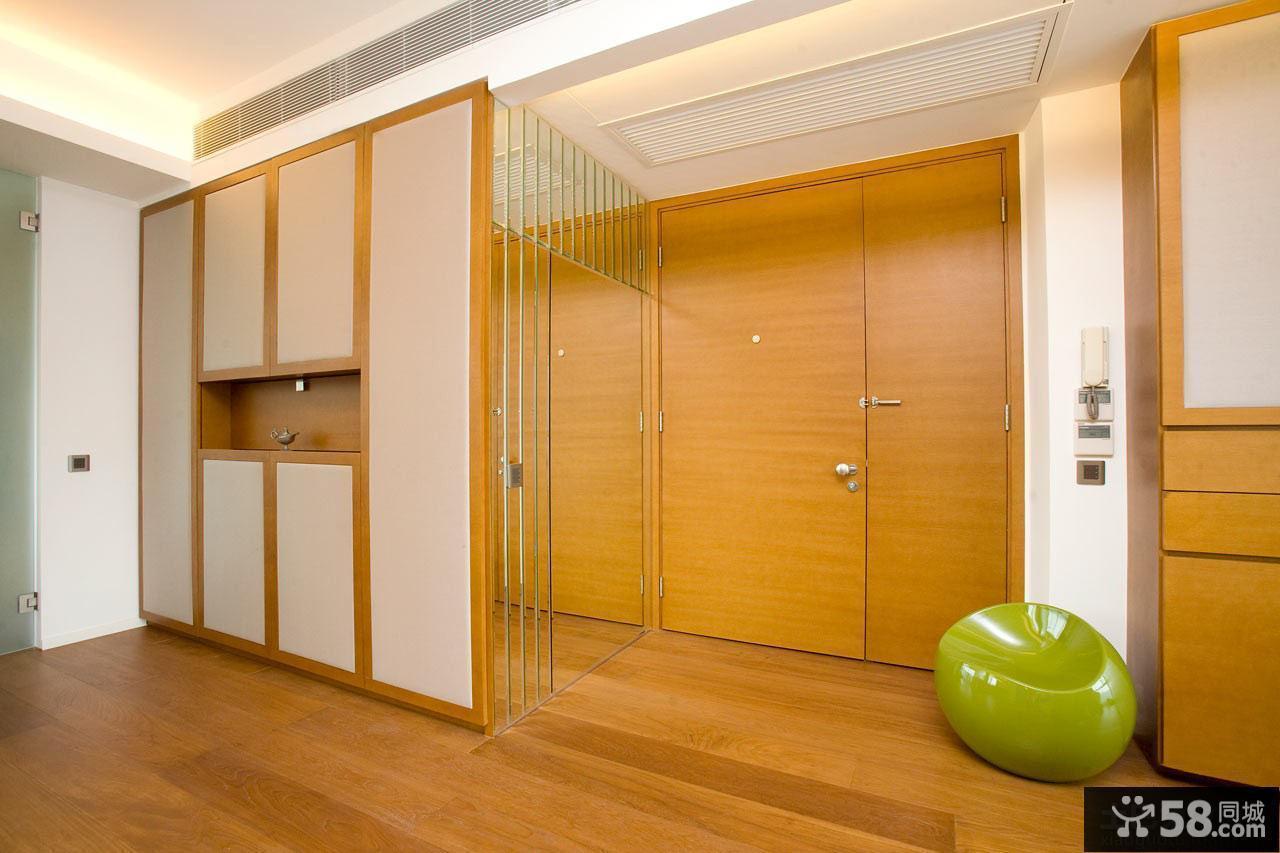 日式家居进门大玄关装修效果图