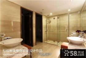 卫生间浴室门装修效果图