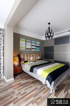 宜家开放式卧室设计