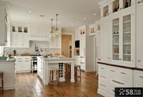 欧式风格开放式厨房装修效果图大全
