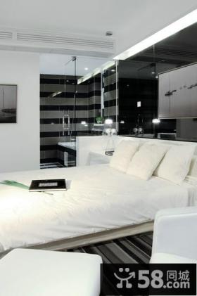 现代摩登卧室装修案例