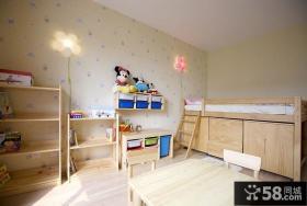 儿童房装修效果图大全2013图片 原木儿童房装修