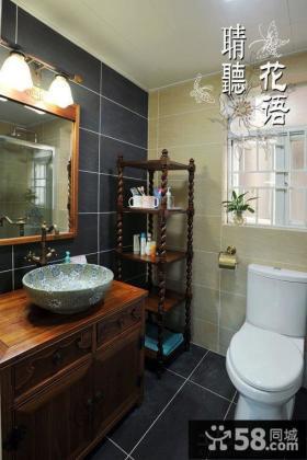 美欧风格2平米卫生间设计图片