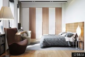 时尚家装开放式卧室装潢图片