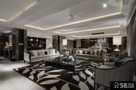 精致新古典家居设计客厅装修效果图