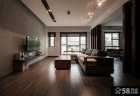 日式现代家装客厅装修效果图