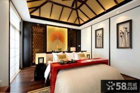 中式风格室内豪华卧室图片大全