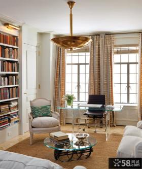 两室两厅书房装修效果图大全2012图片