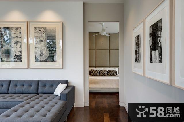 家装客厅电视墙设计图