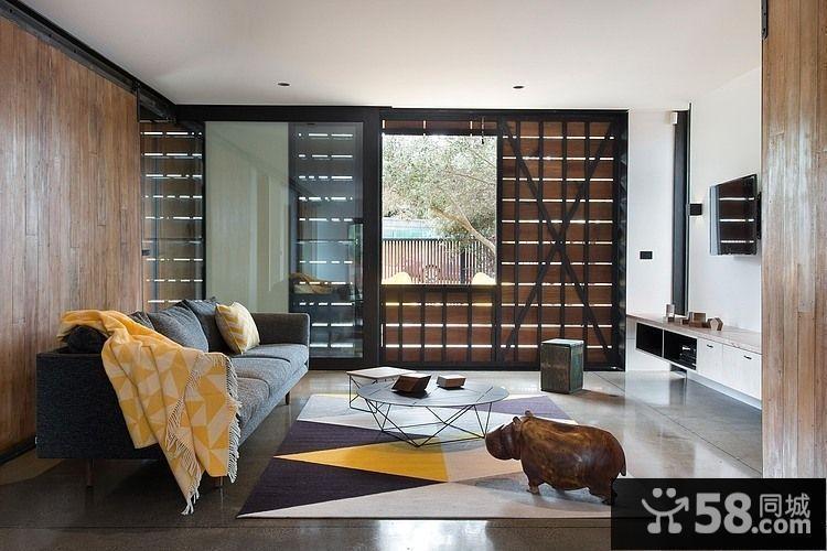 小户型客厅装修图2015