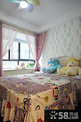 可爱混搭儿童房装修案例
