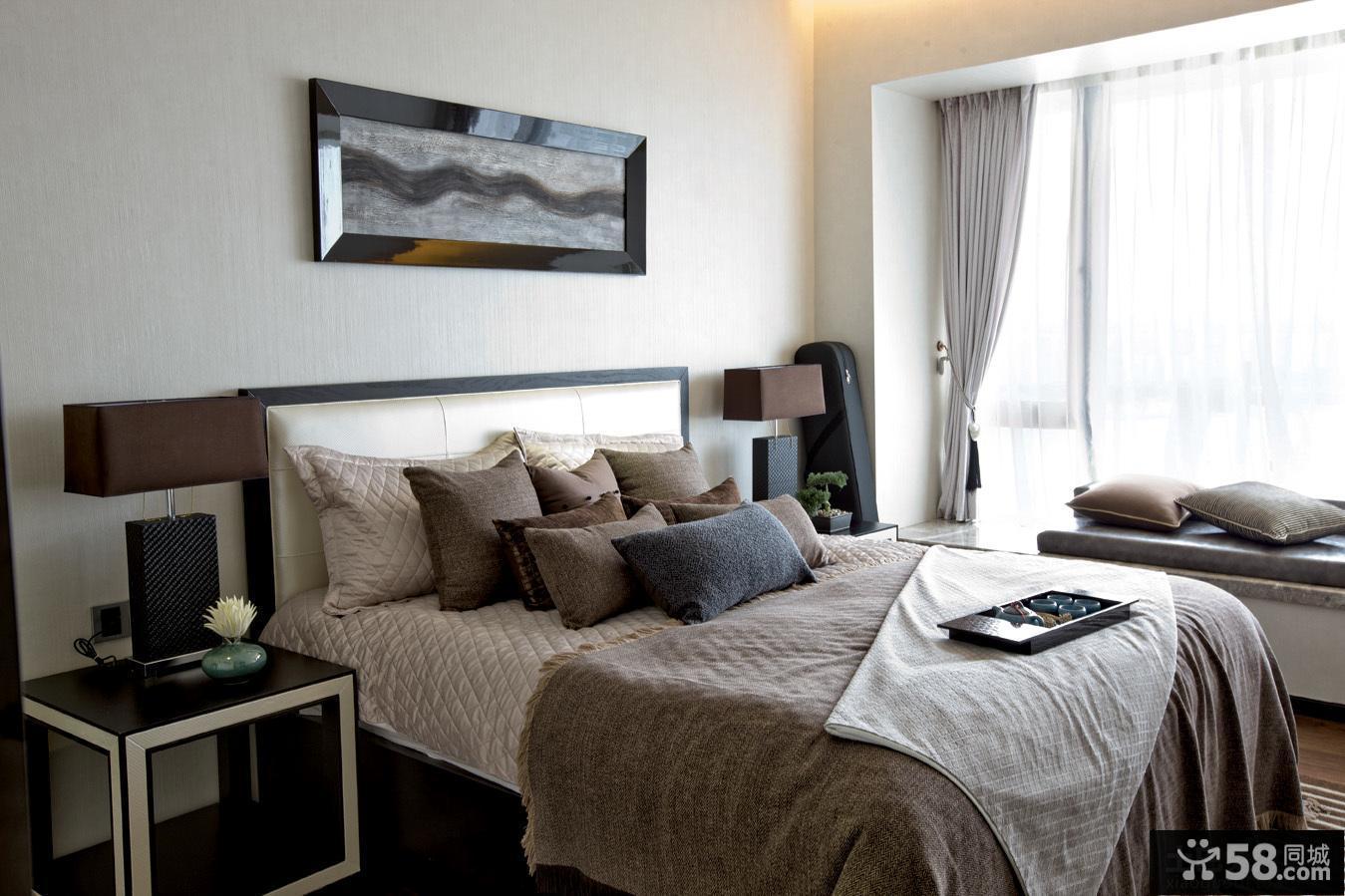 简约现代风格卧室装修效果图欣赏