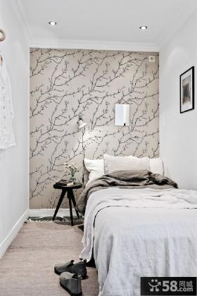 时尚北欧风格卧室装潢设计