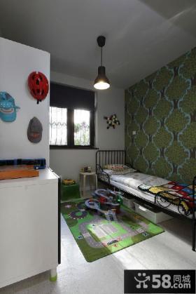 简约创意儿童房局部设计装修
