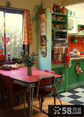简约风格厨房餐厅装修效果图欣赏