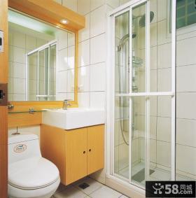 现代老房子卫生间装修效果图片