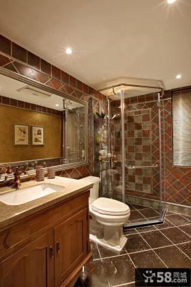 美式装饰设计卫生间大全