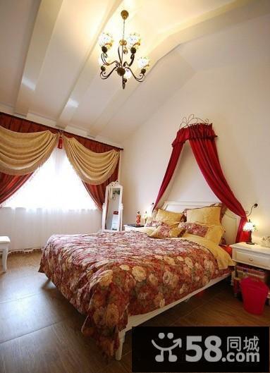 欧式新古典装修效果图卧室