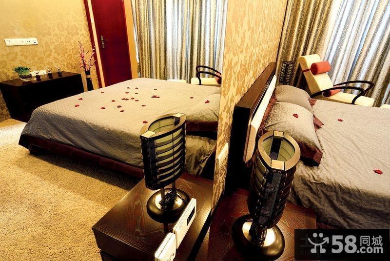欧式风格装修卧室背景墙