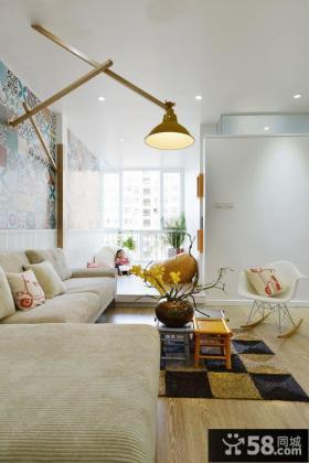 北欧简约设计客厅吊灯图片欣赏