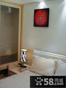 简约风格卧室装修设计效果图片