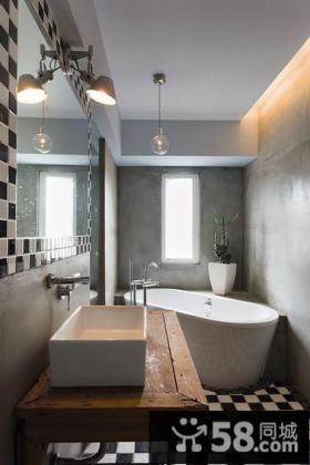 宜家浴室卫生间室内设计效果图