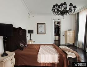 美式设计室内卧室图