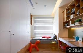 现代简约儿童房家装展示