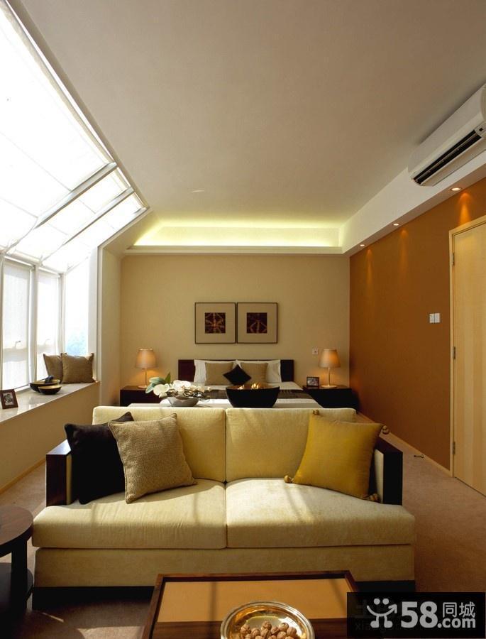 欧式客厅卧室装修