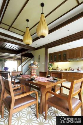 东南亚餐厅设计图片