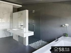 时尚宜家设计室内卫生间效果图