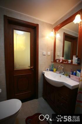 美式家装小卫生间装修效果图