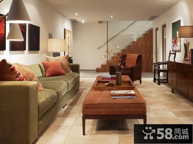小户型客厅现代简约装修图
