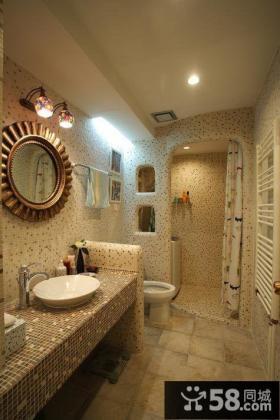 2012卫生间装修效果图欣赏 洗手间装修效果图