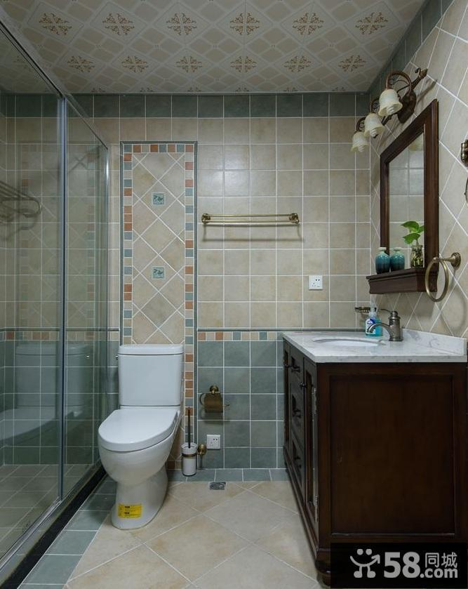 浴室装修效果图小户型