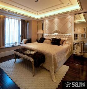 欧式卧室地毯装修