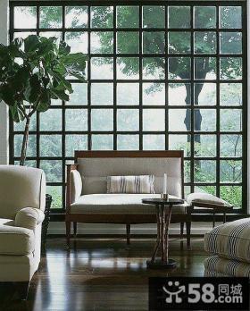 客厅窗户效果图欣赏