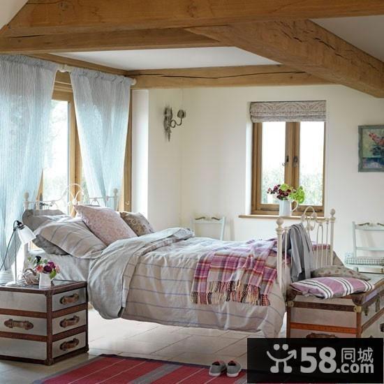 卧室飘窗装饰