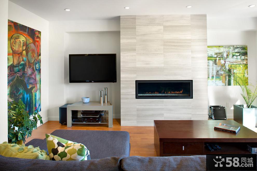 客厅背景墙装饰设计