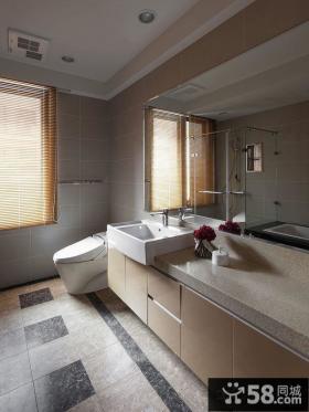 最新现代家居卫生间效果图片