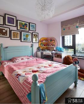 美式简约家居儿童房设计装修效果图